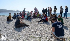 Terrestrial conservation education samos archipelagos