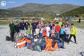 Education terrestrial conservation children Samos archipelagos