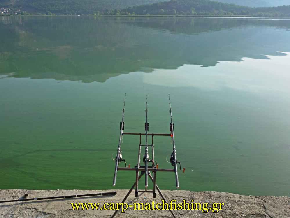 rod-pod-pamvotida-lake-carpmatchfishing
