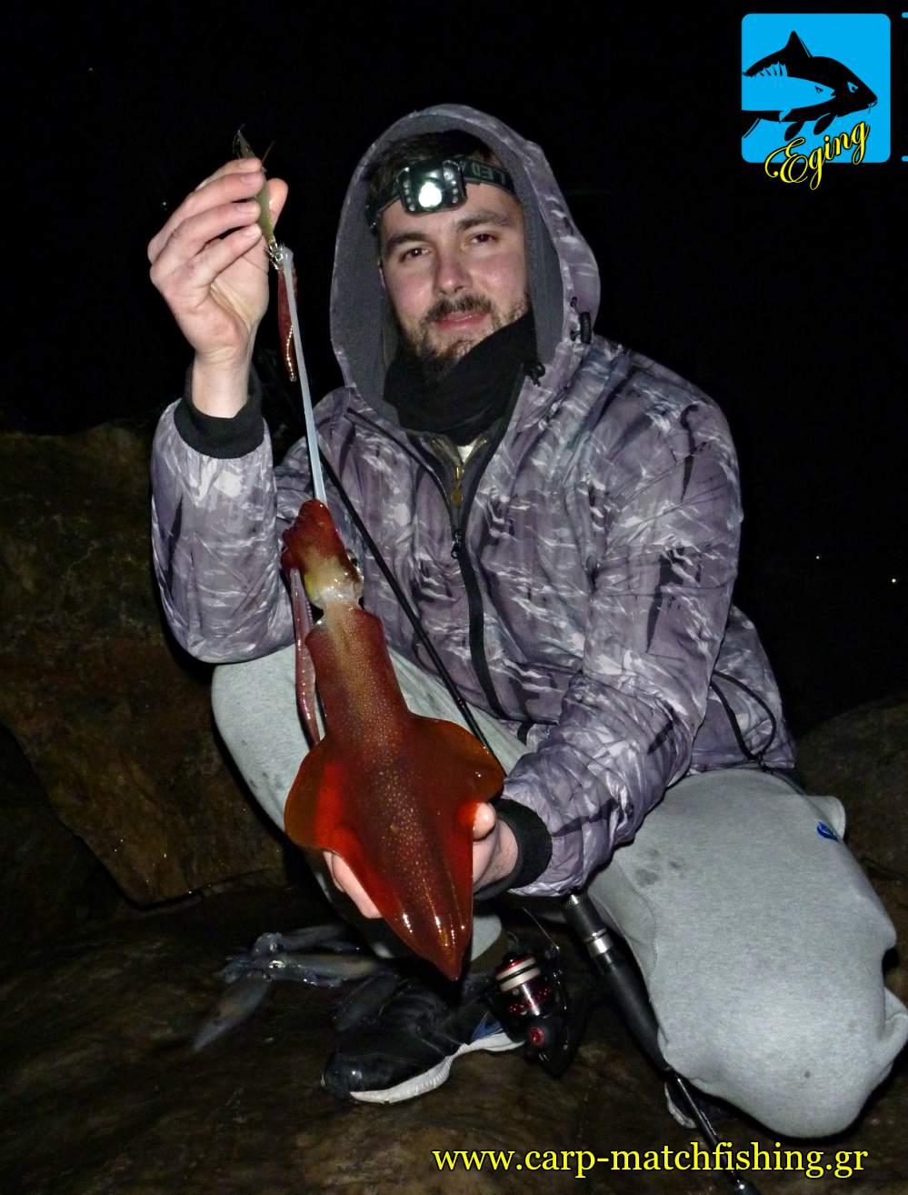 eging night squid topoi kalamarion carpmatchfishing