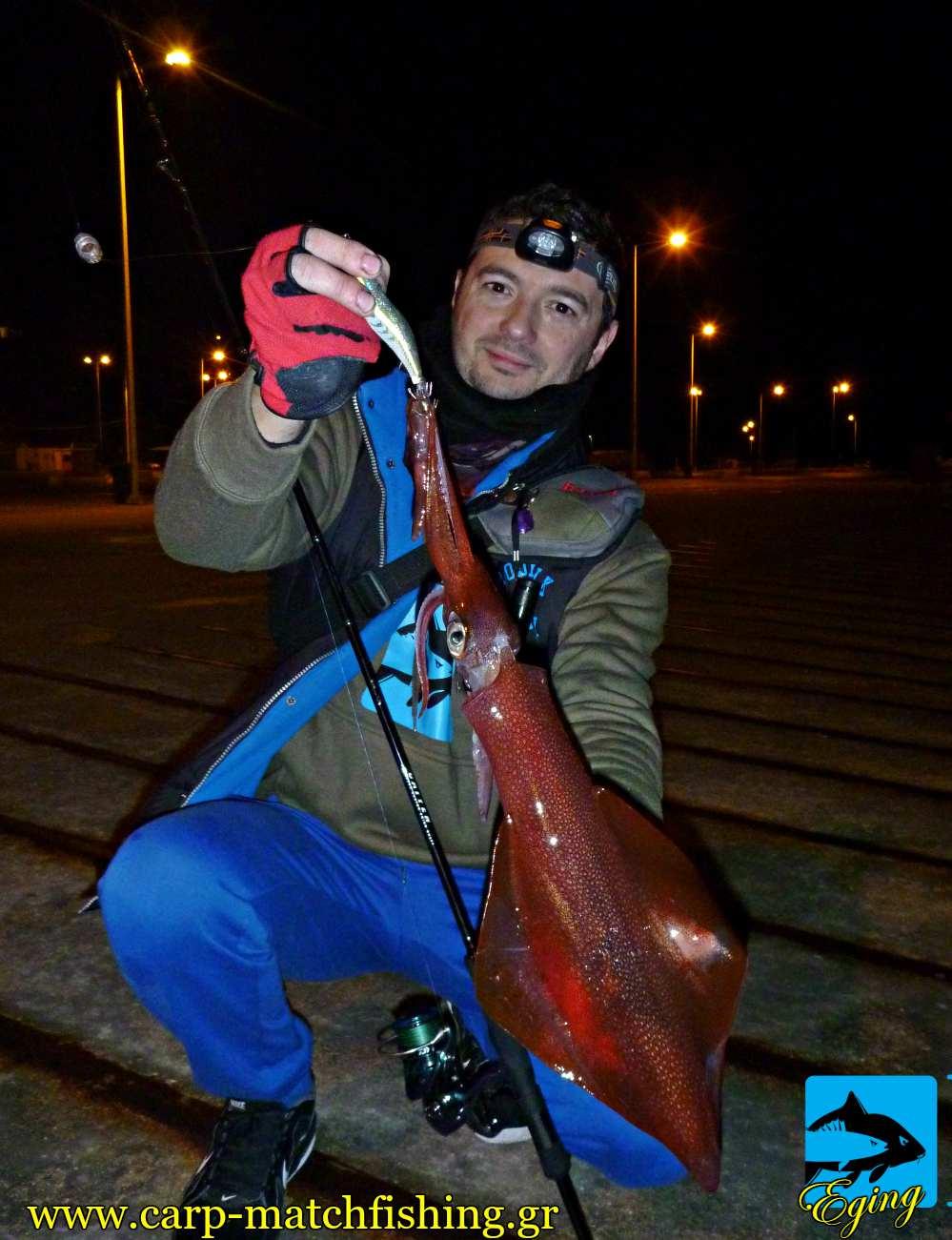 eging topoi me fota limania topoi kalamarion carpmatchfishing