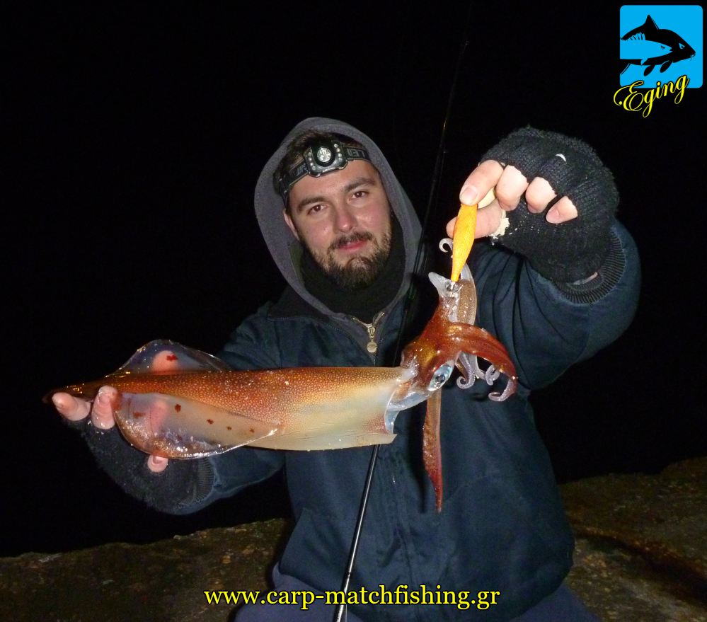 eging topoi kalamarion pap limania carpmatchfishing