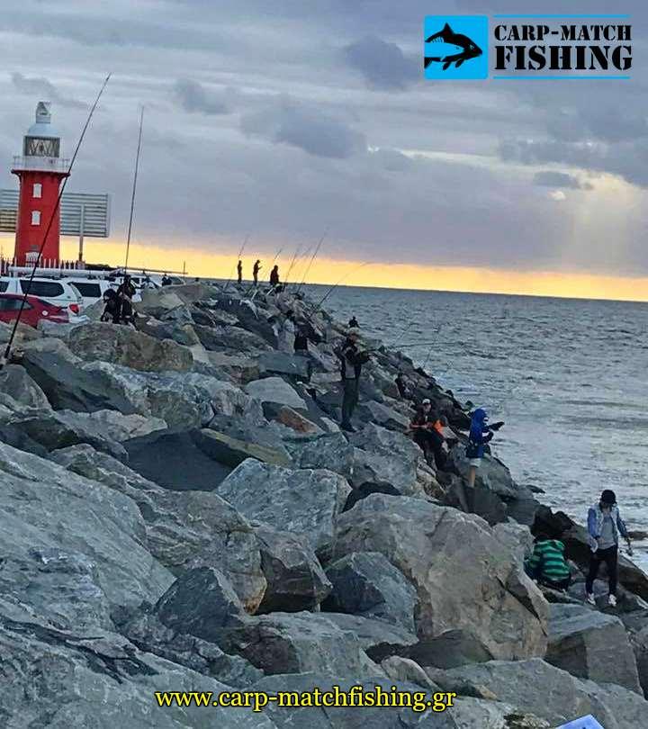 eging rocks fishermens psarema kalamariou jig actions carpmatchfishing