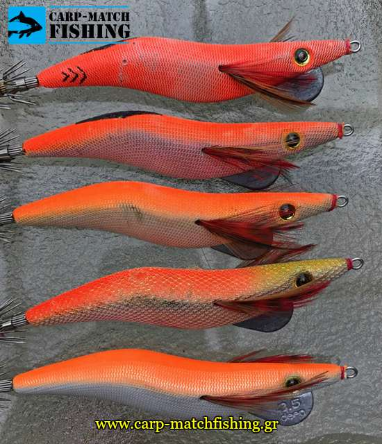 rainbow marble squid jig foil jig actions carpmatchfishing