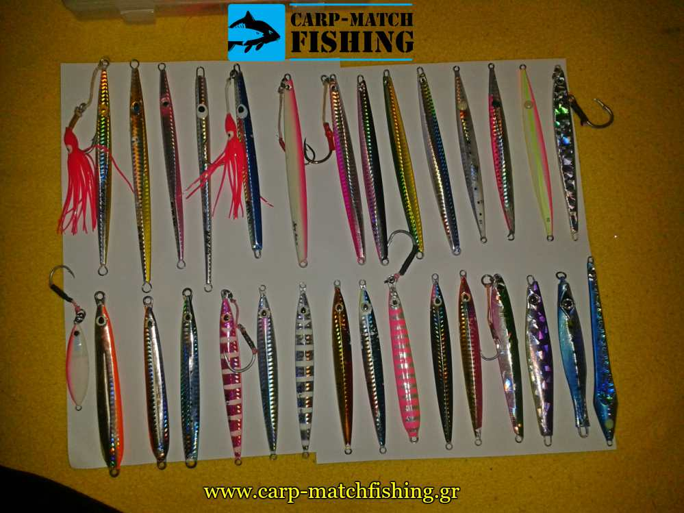 planoi gia shore jigging carpmatchfishing
