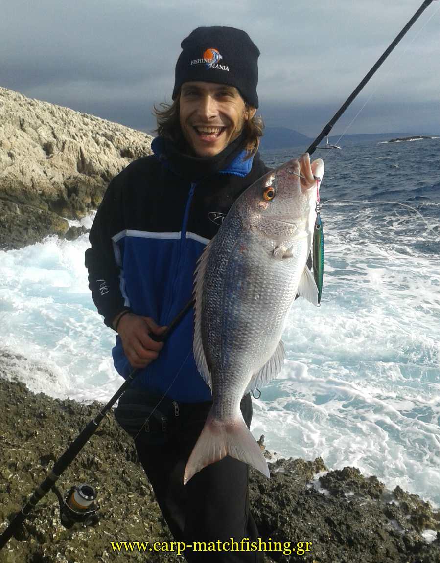 shore jigging synagrida eksoplismos carpmatchfishing