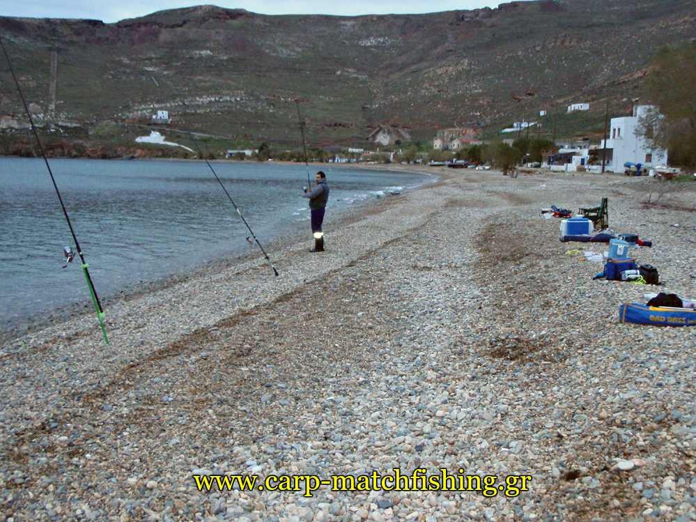 casting-paralia-sargoi-serifos-carpmatchfishing